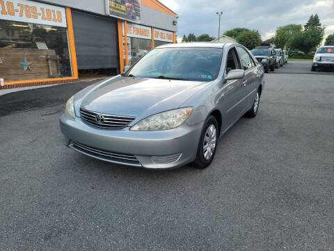 2005 Toyota Camry for sale at Lehigh Valley Truck n Auto LLC. in Schnecksville PA