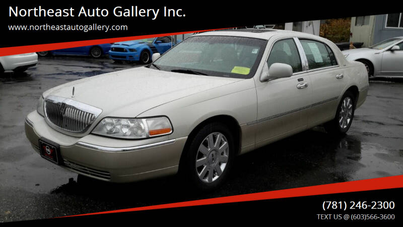 2005 Lincoln Town Car for sale at Northeast Auto Gallery Inc. in Wakefield Ma MA