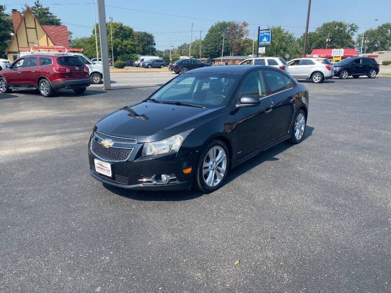 2013 Chevrolet Cruze for sale at Approved Automotive Group in Terre Haute IN