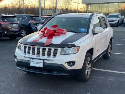 2016 Jeep Compass for sale at Charlotte Auto Group, Inc in Monroe NC