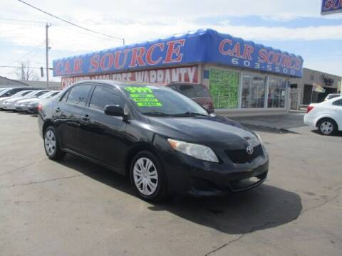 2010 Toyota Corolla for sale at CAR SOURCE OKC in Oklahoma City OK
