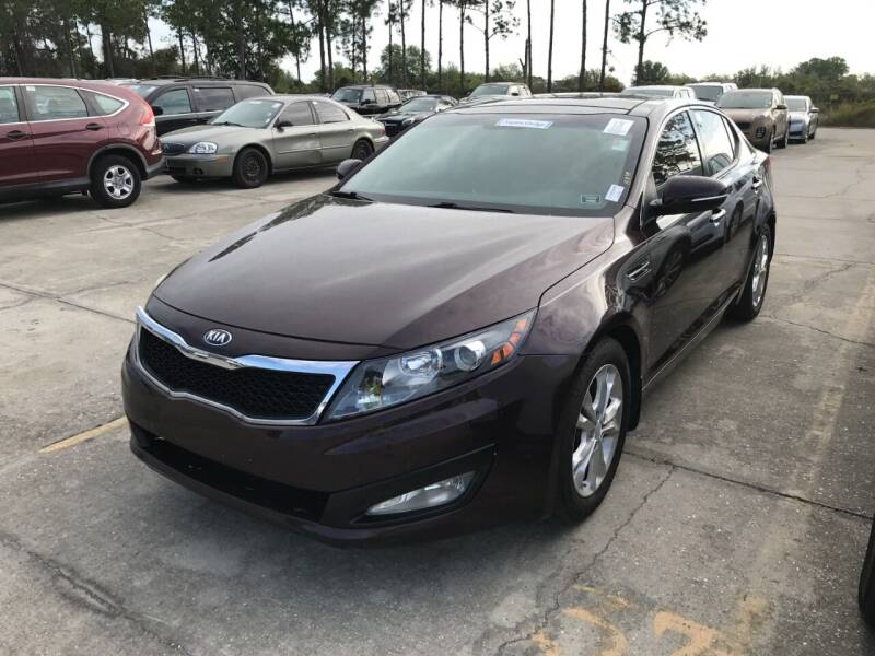 2013 Kia Optima for sale at Always Approved Autos in Tampa FL