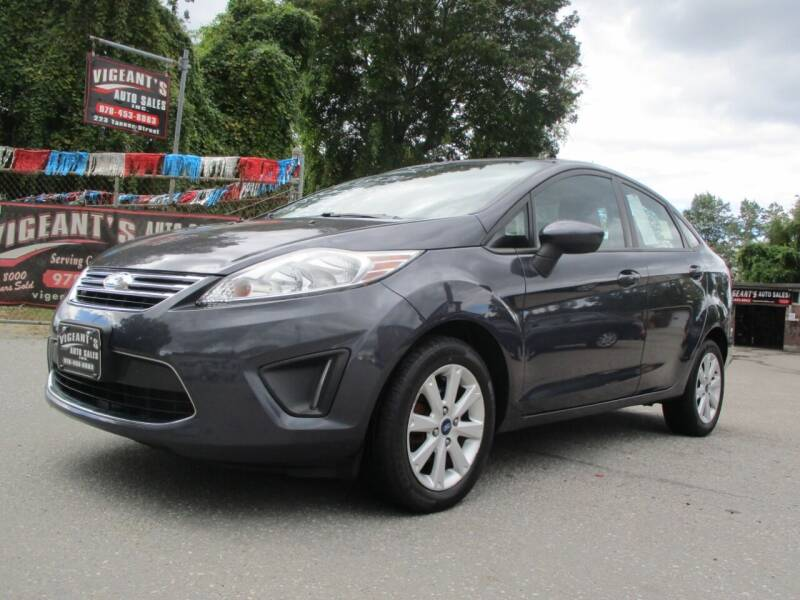 2012 Ford Fiesta for sale at Vigeants Auto Sales Inc in Lowell MA