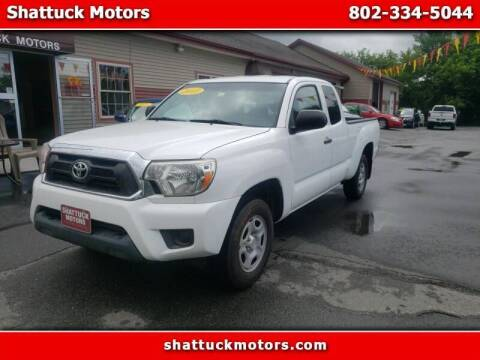 2013 Toyota Tacoma for sale at Shattuck Motors - NEKtrucks.com in Newport VT