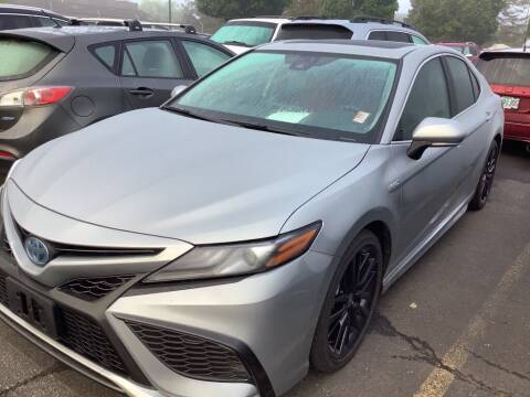 2021 Toyota Camry Hybrid for sale at Royal Moore Custom Finance in Hillsboro OR