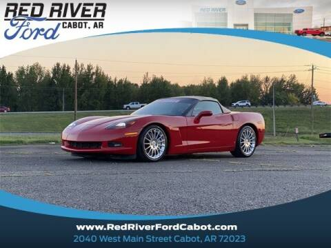 2009 Chevrolet Corvette for sale at RED RIVER DODGE - Red River of Cabot in Cabot, AR