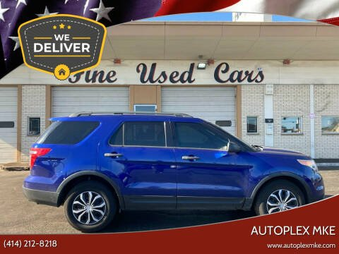 2013 Ford Explorer for sale at Autoplex MKE in Milwaukee WI