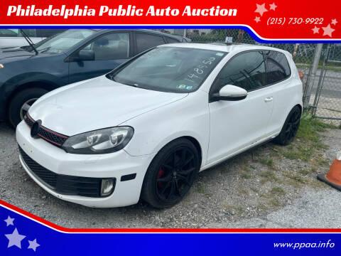 2010 Volkswagen GTI for sale at Philadelphia Public Auto Auction in Philadelphia PA