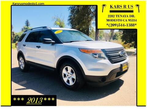 2013 Ford Explorer for sale at KARS R US in Modesto CA