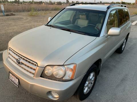 2003 Toyota Highlander for sale at Citi Trading LP in Newark CA