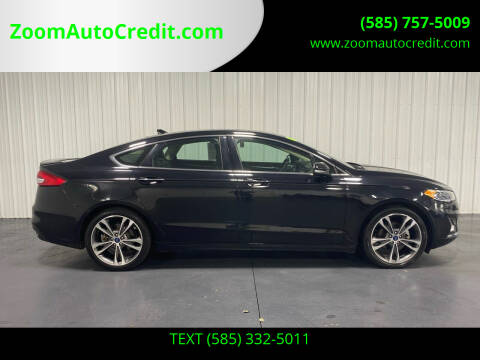 2019 Ford Fusion for sale at ZoomAutoCredit.com in Elba NY