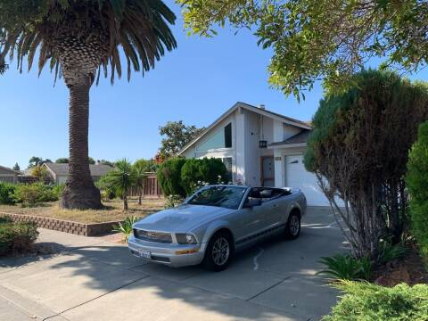 2005 Ford Mustang for sale at Blue Eagle Motors in Fremont CA