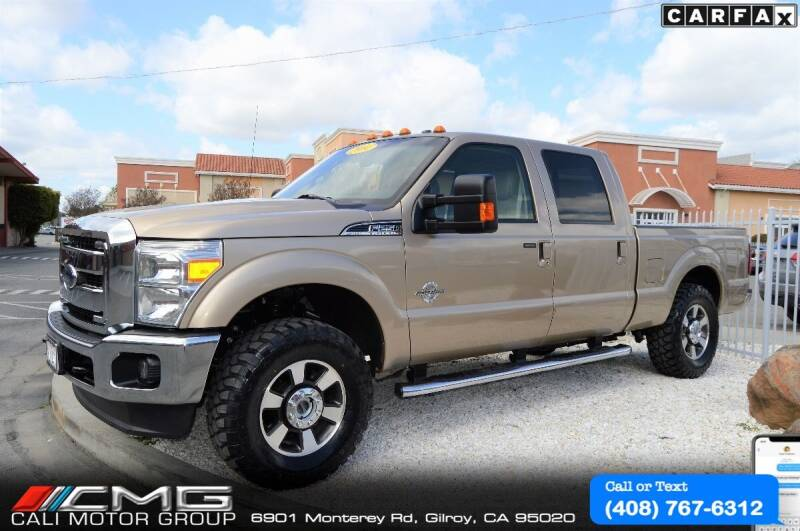 2014 Ford F-250 Super Duty for sale at Cali Motor Group in Gilroy CA