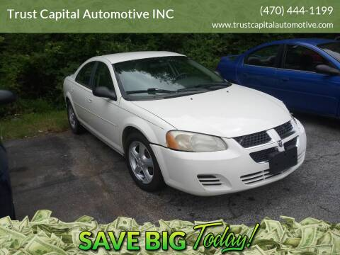 2005 Dodge Stratus for sale at Trust Capital Automotive Inc. in Covington GA