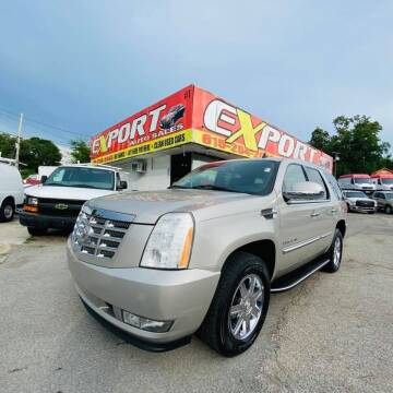2008 Cadillac Escalade for sale at EXPORT AUTO SALES, INC. in Nashville TN