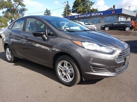 2019 Ford Fiesta for sale at All American Motors in Tacoma WA