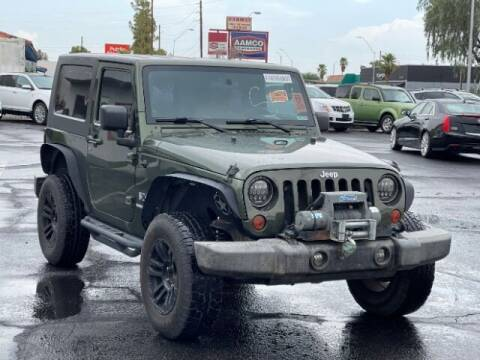 2008 Jeep Wrangler for sale at Curry's Cars Powered by Autohouse - Brown & Brown Wholesale in Mesa AZ