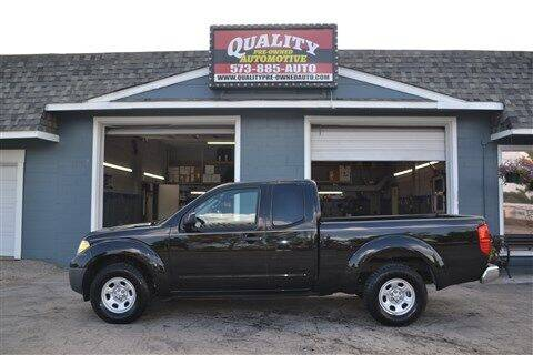 2014 Nissan Frontier for sale at Quality Pre-Owned Automotive in Cuba MO