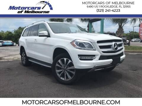2015 Mercedes-Benz GL-Class for sale at Motorcars of Melbourne in Rockledge FL
