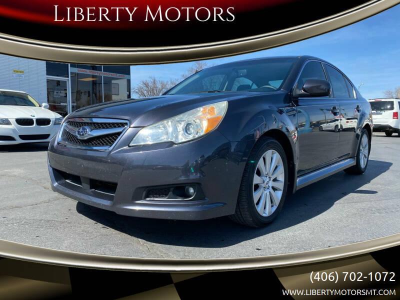 2011 Subaru Legacy for sale at Liberty Motors in Billings MT