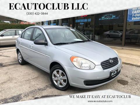 2008 Hyundai Accent for sale at ECAUTOCLUB LLC in Kent OH