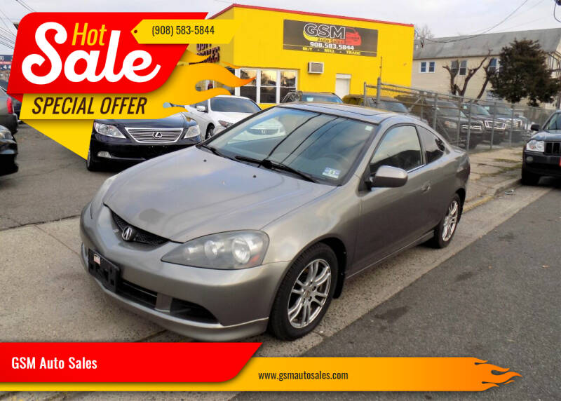 2006 Acura RSX for sale at GSM Auto Sales in Linden NJ