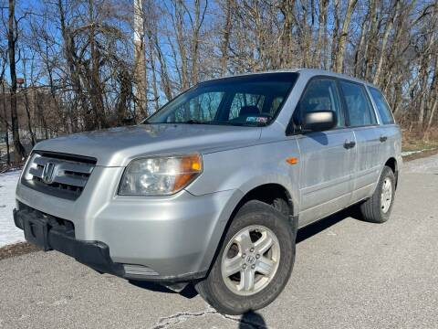 2007 Honda Pilot for sale at Trocci's Auto Sales in West Pittsburg PA