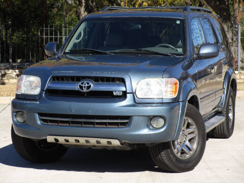 2005 Toyota Sequoia for sale at Ritz Auto Group in Dallas TX