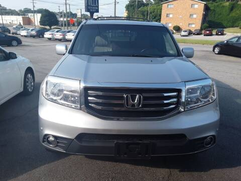 2012 Honda Pilot for sale at Auto Villa in Danville VA