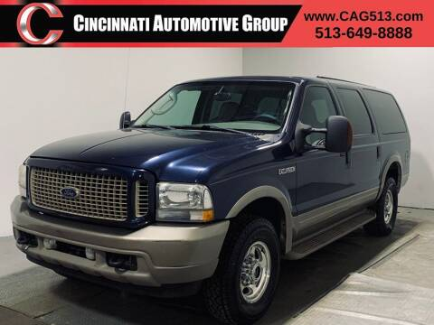 2004 Ford Excursion for sale at Cincinnati Automotive Group in Lebanon OH
