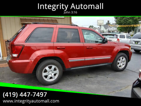 2010 Jeep Grand Cherokee for sale at Integrity Automall in Tiffin OH