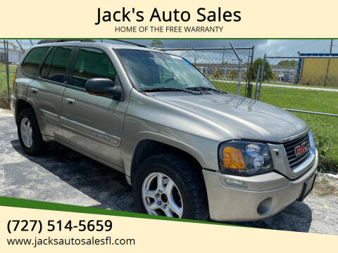 2002 GMC Envoy for sale at Jack's Auto Sales in Port Richey FL