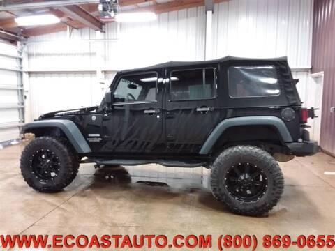2014 Jeep Wrangler Unlimited for sale at East Coast Auto Source Inc. in Bedford VA
