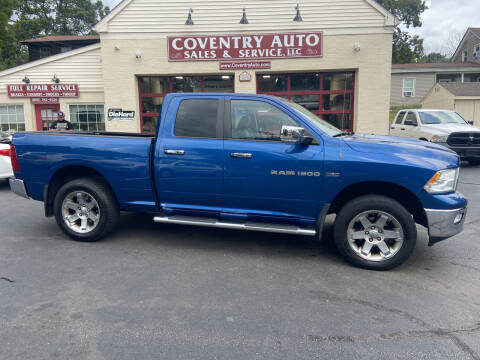 2011 RAM Ram Pickup 1500 for sale at COVENTRY AUTO SALES in Coventry CT