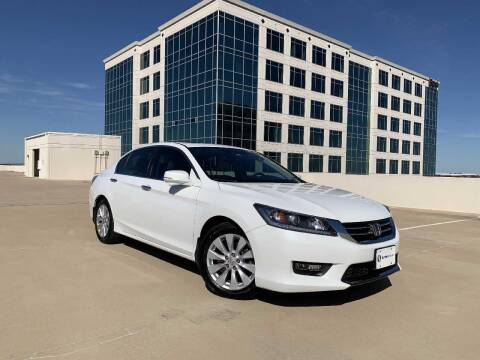 2015 Honda Accord for sale at SIGNATURE Sales & Consignment in Austin TX
