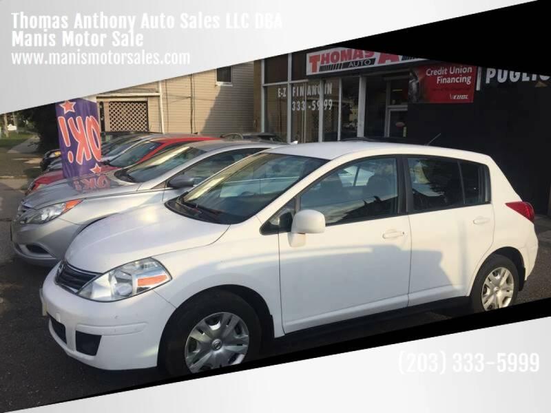 2010 Nissan Versa for sale at Thomas Anthony Auto Sales LLC DBA Manis Motor Sale in Bridgeport CT