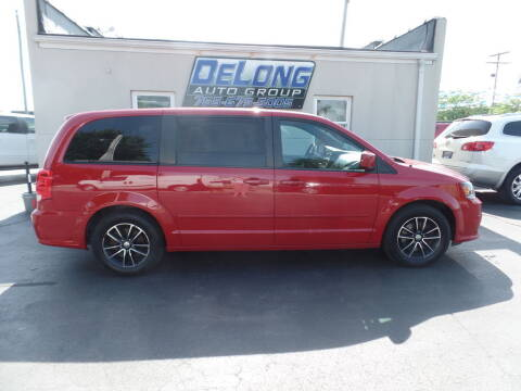 2016 Dodge Grand Caravan for sale at DeLong Auto Group in Tipton IN