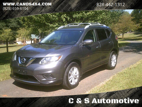 2014 Nissan Rogue for sale at C & S Automotive in Nebo NC