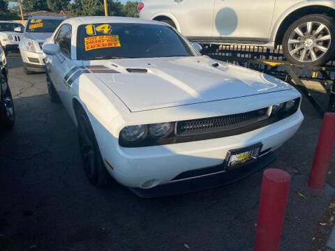 2014 Dodge Challenger for sale at Crown Auto Inc in South Gate CA