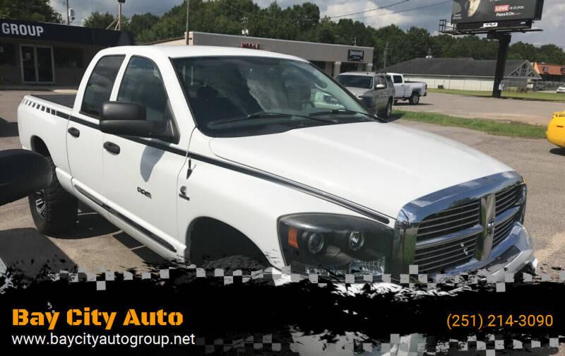 2006 Dodge Ram Pickup 3500 for sale at Bay City Auto's in Mobile AL