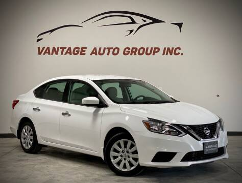 2017 Nissan Sentra for sale at Vantage Auto Group Inc in Fresno CA