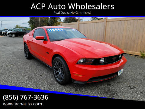 2012 Ford Mustang for sale at ACP Auto Wholesalers in Berlin NJ