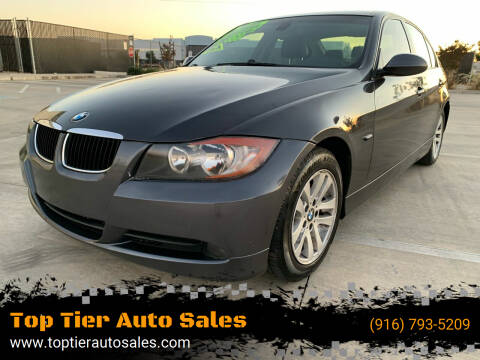 2007 BMW 3 Series for sale at Top Tier Auto Sales in Sacramento CA