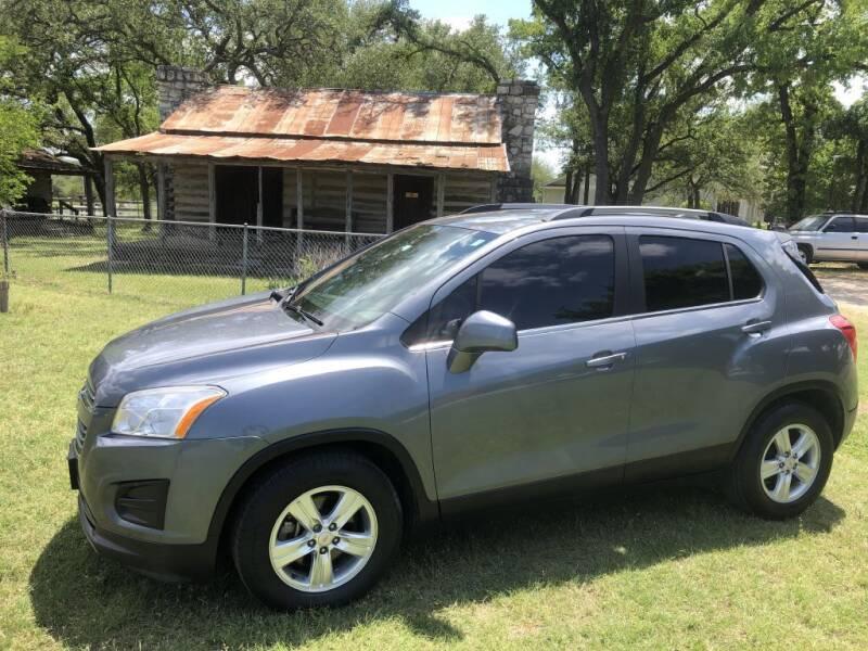 2015 Chevrolet Trax for sale at Village Motors Of Salado in Salado TX