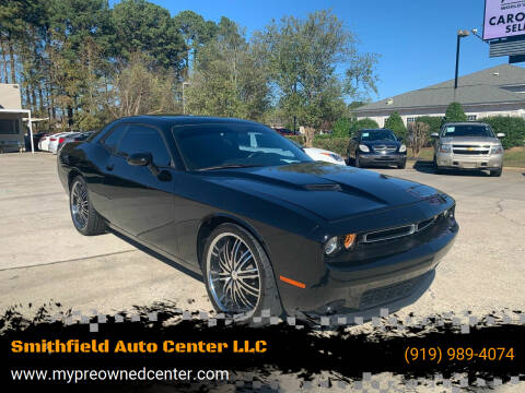 2016 Dodge Challenger for sale at Smithfield Auto Center LLC in Smithfield NC