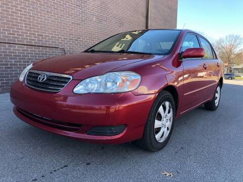 2007 Toyota Corolla for sale at WALDO MOTORS in Kansas City MO