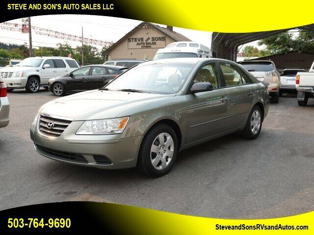2009 Hyundai Sonata for sale at Steve & Sons Auto Sales in Happy Valley OR
