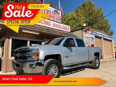 2016 Chevrolet Silverado 2500HD for sale at Oscar's Truck Center, LLC in Houston TX
