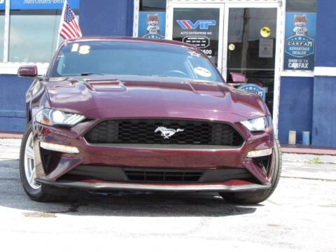 2018 Ford Mustang for sale at VIP AUTO ENTERPRISE INC. in Orlando FL