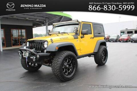 2015 Jeep Wrangler for sale at Bening Mazda in Cape Girardeau MO